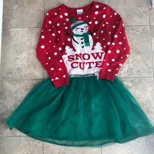 Other - Children's Christmas sweater dress